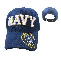 Licensed NAVY Hat [Seal on Bill] Navy